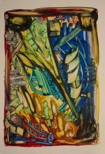 Encaustic Art 3 (2011)