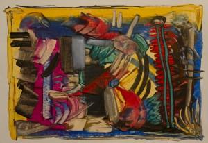Encaustic Art 4 (2011)
